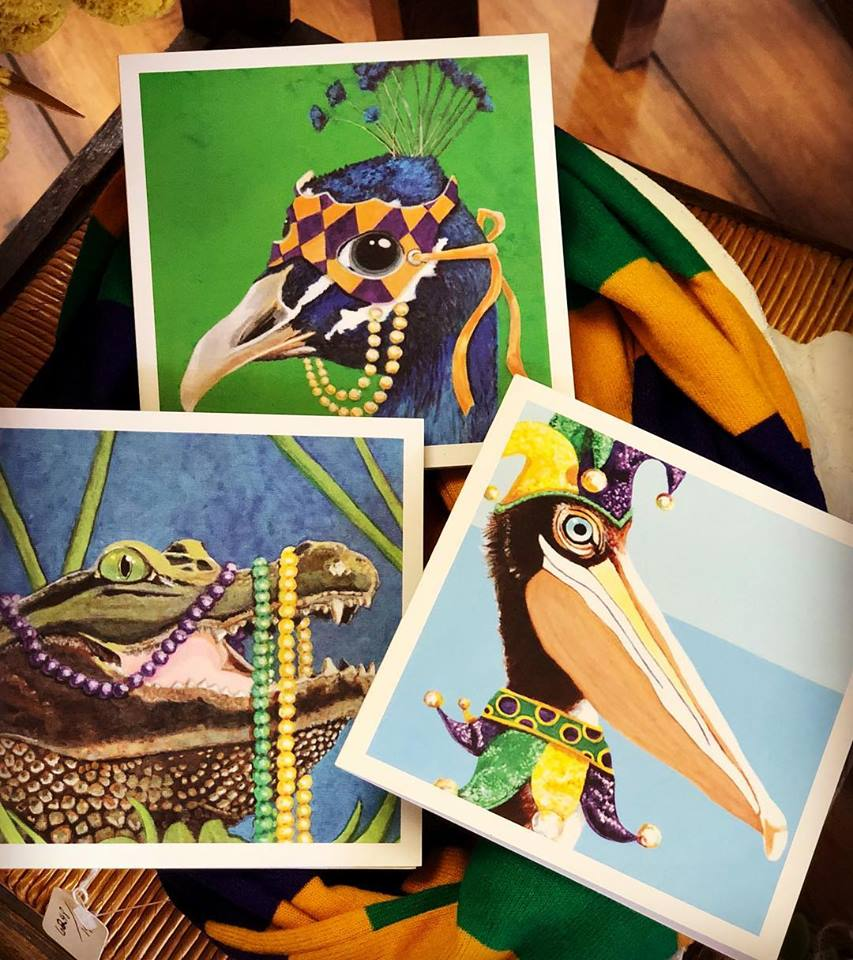 Mardi Gras Greeting Cards